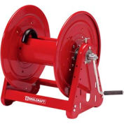 "Reelcraft CA32106 L 1/2""x100' 1000 PSI Heavy Duty Hand Crank Low Pressure Hose Reel"