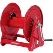 "Reelcraft CH37118 L 1""x 100' 1000 PSI Heavy Duty Hand Crank Low Pressure Hose Reel"