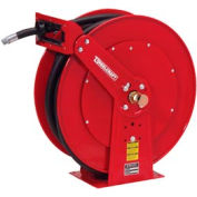 """Reelcraft FD84050 OLP 1""""x50' 250 PSI Spring Retractable Fuel Delivery Hose Reel"""