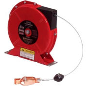 Reelcraft G3050N 50' Static Discharge Grounding Reel Spring Retractable w/ Nylon Coated Cable