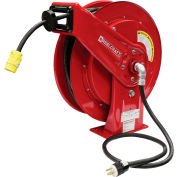 Reelcraft L 70075 123 3, 12 AWG / 3 Conductor x 75 ft, 15 AMP, Single Outlet (5-15R) with Cord