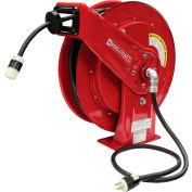 Reelcraft L 70100 123 3B, 12 AWG / 3 Conductor x 100ft, 20 AMP, Twist Lock Connector (L5-20R) w/Cord