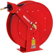 """Reelcraft PW81000 OHP 3/8""""x100' 4500 PSI Spring Retractable Pressure Wash Hose Reel"""