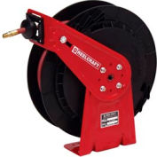 "Reelcraft RT425-OHP 1/4""x 25' 5000 PSI Medium Duty High Pressure Spring Retractable Hose Reel"
