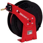 "Reelcraft RT435-OHP 1/4""x 35' 5000 PSI Medium Duty High Pressure Spring Retractable Hose Reel"