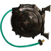 """Reelcraft SWA3850 OLP 5/8"""" x 50' Retractable 125 PSI Hose Reel W/Hose"""