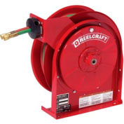 "Reelcraft TW5425 OLP 1/4""x 25' 200 PSI Spring Retractable Welding Gas Hose Reel"