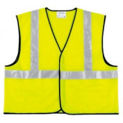 Class II Economy Safety Vests, RIVER CITY VCL2SLX2, Size 2XL