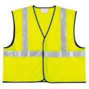 Class II Economy Safety Vests, RIVER CITY VCL2SLX4, Size 4XL
