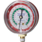 """Yellow Jacket® 2-1/2"""" Red High Side Gauge 49051"""