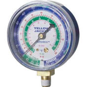 "Yellow Jacket® 2-1/2"" Blue Low Side Gauge 49052"