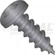 6 X 1-1/2 Phillips Pan Head Tapping Screw, Package Of 100