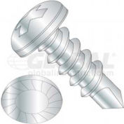 8 X 3/4 Phillips Pan Head Tek Screw - Pkg of 50