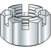 3/8-24 SAE Slotted Finished Hex Nut - Pkg of 10