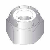 8-32 Nylon Insert Locknut - 18-8 Stainless Steel Pkg Of 50