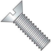 """4-40 X 1/4"""" Slotted Flat Head Machine Screw - 18-8 Stainless Pkg Of 100"""