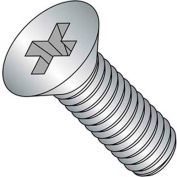 "10-24 X 3/4"" Phillips Flat Head Machine Screw - 18-8 Stainless Pkg Of 50"