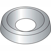 #10 Finshng Washer Countersunk, Nickel, Package Of 50
