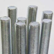 Threaded Rod Assortments, B-7 Alloy Plain Steel, 3' Lengths, Includes Cabinet, 9 Items, 13 Pieces