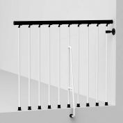 """Arké Civik Balcony Rail Kit 47"""" White"""