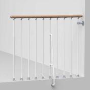 "Arké Phoenix Balcony Rail Kit 47"" White"
