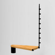 "Arké Oak 70.Xtra Additional Riser 63"" Dia. Black"