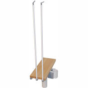 "Arké Kompact Additional Riser 35"" White"