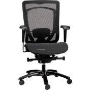 Eurotech Monterey Mid Back Chair - Black Mesh