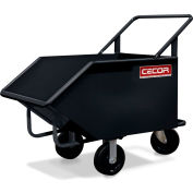 CECOR® Heavy-Duty Dumping Tilt Truck TB-048-6P - 8 cu.ft. Lip Height 18""
