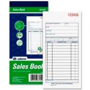 "Adams® Sales Order Book, 2-Part, Carbonless, 3-11/32"" x 7-3/16"", 50 Sets/Pad"