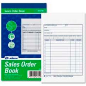 "Adams® Sales Order Book, 2-Part, Carbonless, 4-3/16"" x 7-3/16"", 50 Sets/Pad"