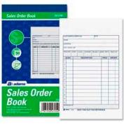 "Adams® Sales Order Book, 2-Part, Carbonless, 4-3/16"" x 7-3/16"", 50 Sets/Pad"