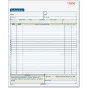 """Adams® Purchase Order Book, 2-Part, Carbonless, 8-3/8"""" x 10-11/16"""", 50 Sets/Pad"""