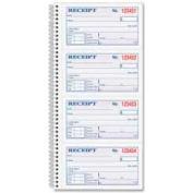"""Adams® Money/Rent Receipt Book, 2-Part, Carbonless, 5-1/4"""" x 11"""", 200 Sets/Pad"""