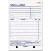 "Adams® Purchase Order Book, 3-Part, Carbonless, 5-9/16"" x 8-7/16"", 50 Sets/Book"