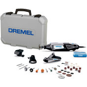 Dremel® 4000-4/34 4000-Series Variable Speed Rotary Tool Kit w/ 3 Attachments & 34 Accessories