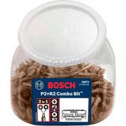 "BOSCH® P2R2 1"" Dual Drive Combo Bits, 43074, 1/4 Shank, 250-Piece - Pkg Qty 250"