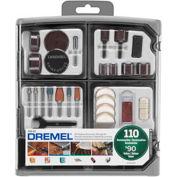 Dremel® 709-02 110-Piece All-Purpose Accessory Kit for Dremel® Rotary Tools - Pkg Qty 2
