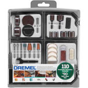Dremel® 709-02 110-Piece All-Purpose Accessory Kit for Dremel® Rotary Tools