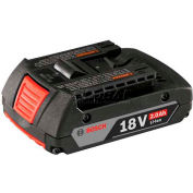 BOSCH® BAT612, 18V Lithium-Ion 2.0AH Slim Pack Battery