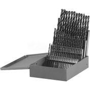 BOSCH® BL0060 60 piece Metal Index Black Oxide Drill Bit Set - Sizes #1-#60