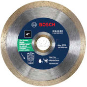 """BOSCH® Premium Plus Continous Rim Concrete Diamond Saw Blade, DB4566C, 4-1/2"""", 5/8"""" Arbor"""