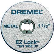 "Dremel® EZ456 EZ Lock 1 1/2"" Metal Wheel for Dremel® Rotary Tools - Pkg Qty 2"