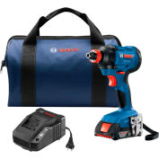 BOSCH® IWH181-01, 18V 3/8 Inch Impact Wrench W/(2) FatPack Batteries