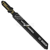 "BOSCH® 3"" Ceramic Specialty T-Shank Jigsaw Blade, T150RF1, 50 Grit, 1-Piece - Pkg Qty 5"