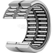 IKO Double Row Machined Type Needle Roller Bearing METRIC Separable Cage, 22mm Bore, 30mm OD