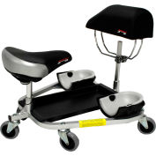 """RACATAC Kneeling/Sitting Creeper w/3"""" Casters & Chest Support - 01RAC3CS"""