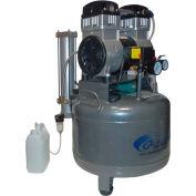 California Air Tools Ultra Quiet & Oil-Free Air Compressor/Dryer CAT-1020D-22060, 2HP, 220V, 10 Gal