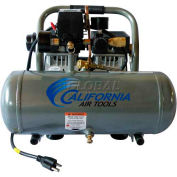 California Air Tools Portable Air Compressor CAT-1650A, Ultra Quiet & Oil Free, 110V, 1/2HP, 1.6 Gal