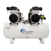 California Air Tools CAT-20040DC, 4HP, Duplex Comp, 20  Gal, Horiz., 125PSI, 10.6CFM, 1PH 230V